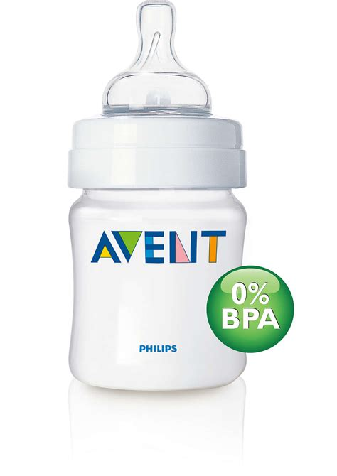 Philips Avent Baby Bottle 125ml 0m avent classic baby bottle 125ml clear