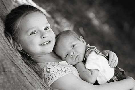 For Siblings - new sibling newborn child photography canberra