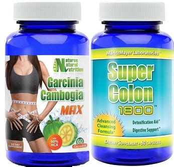 Ultimate Detox Cleanse Max by Garcinia Cambogia Max Colon Cleanser Ultimate Duo