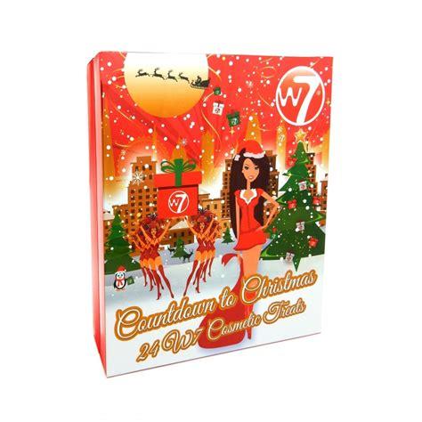 make up advent calendar w7 cosmetics cosmetic advent calendar 2017 make up from