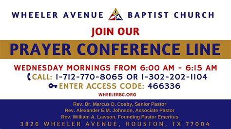 wheeler avenue baptist church live