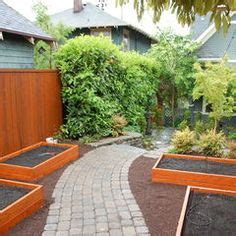 northwest backyard landscaping ideas back yard on pinterest seattle ground level deck and landscaping
