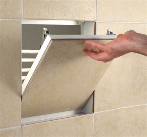 Tile Access Panel Non Fire Rated Metal 300x300mm