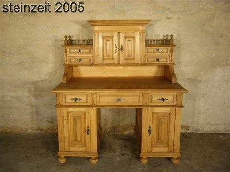 Schreibtisch Mit Aufsatz Holz by Restaurierter Deco Schreibtisch Aus Makassar Holz Um