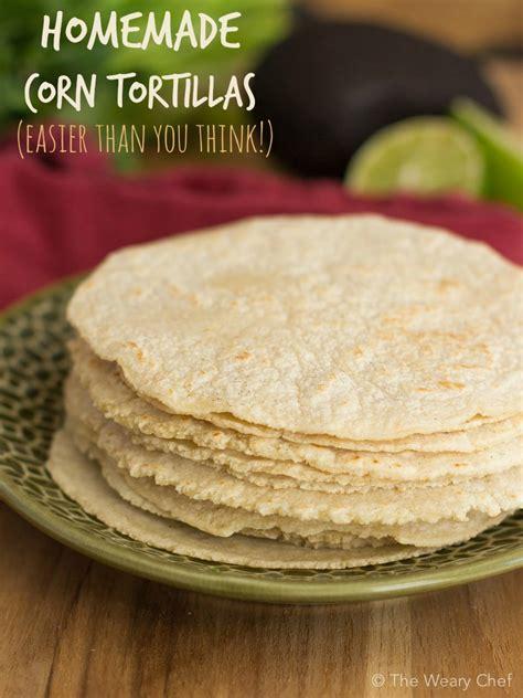 Handmade Tortillas Recipe - corn tortillas recipe dishmaps