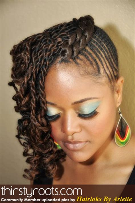 natural hairstyles in braids natural hair style twists braids front view thirstyroots
