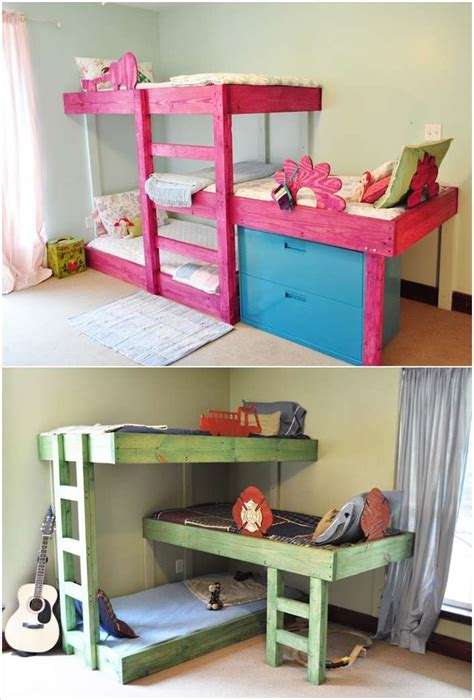Handmade Toddler Bed - 15 diy bed designs that will turn bedtime into time