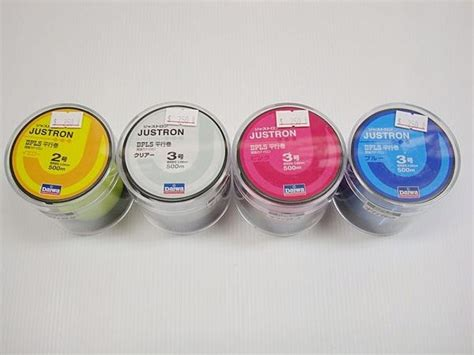 Line Daiwa Dpls daiwa fishing line justron dpls 500m from japan 1000 ebay