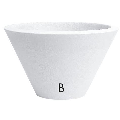vaso in resina vaso nicoli in resina di polietilene chiron fiorinmaurizio