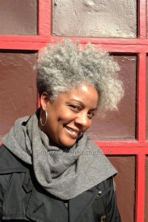 salt and pepper images black woman pinterest salt pepper natural hair care styles techniques