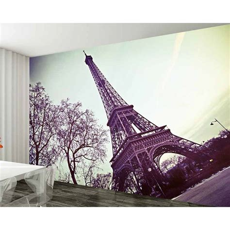 Wall Murals Eiffel Tower 1 Wall Eiffel Tower Wallpaper Mural W8p 002