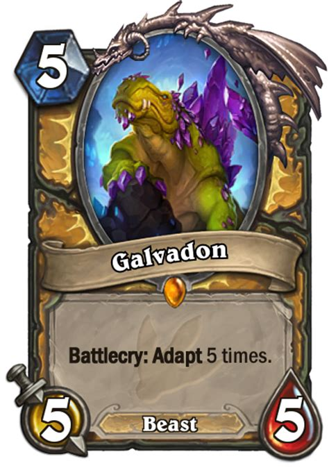 Legendary Paladin Deck by Galvadon Hearthstone Cards Spoiler