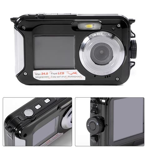 Kamera Samsung Dual Lcd doppel bildschirm 24mp dual lcd digitale kamera