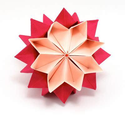 Origami Flower Designs - bead origami origami interlude kusudama