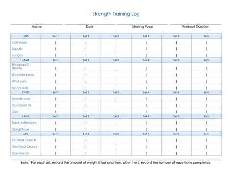 strength template nabweb info