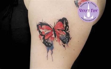 watercolor tattoo italia 1000 ideas about watercolor butterfly on