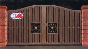 man jaya engineering latest design for iron and wood gate