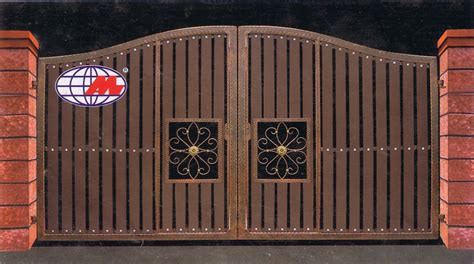 man jaya engineering latest design for iron and wood gate