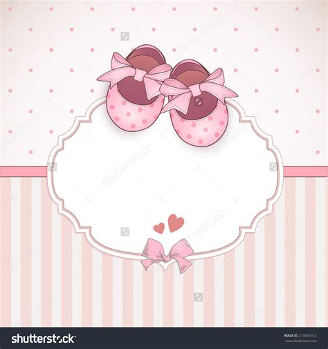 Text For Baby Shower Card by Baby Shower Card Arrival Card With Place For Your