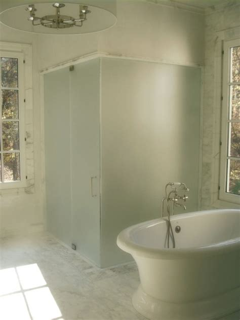 why is frosted glass used in a bathroom window frosted glass shower transitional bathroom brian