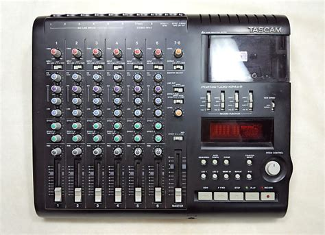 tascam portastudio cassette tascam portastudio 424 mkiii multi track cassette recorder