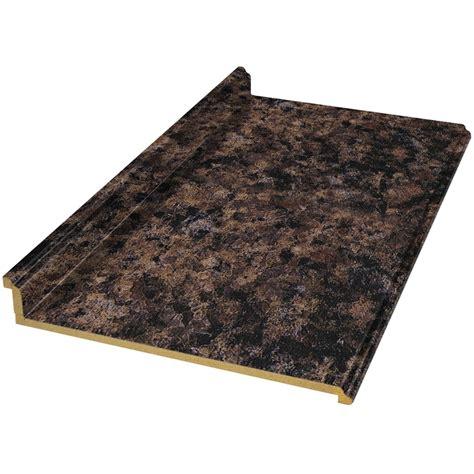 Belanger Laminate Countertops by Shop Belanger Laminate Countertops Wilsonart 4 Ft Noche Mirage Laminate