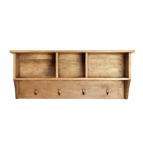 Wall Mounted Shelf Units by Wall Mounted Coat And Shelf Unit By Within Home