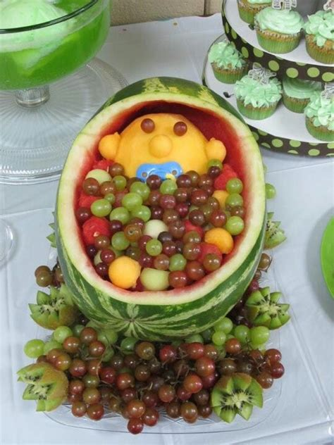 Baby Shower Fruit Basket by Modal Title