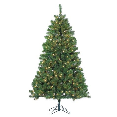 7 ft montana pine pre lit full christmas tree by sterling