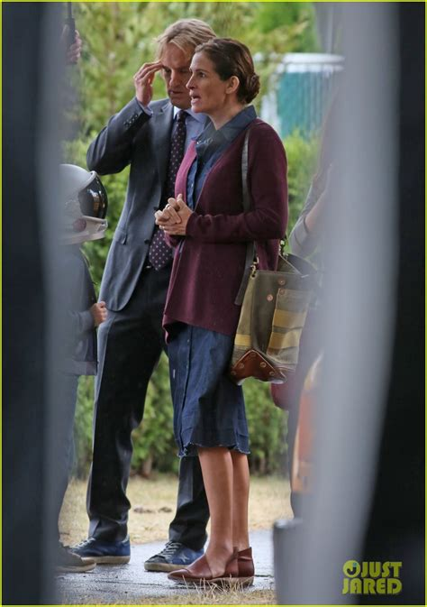 luke wilson julia roberts julia roberts owen wilson film new scenes on the set of