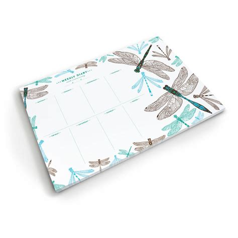 dragonfly weekly planner by cherith harrison