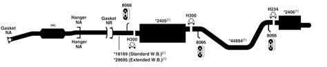gmc envoy exhaust diagram from best value auto parts