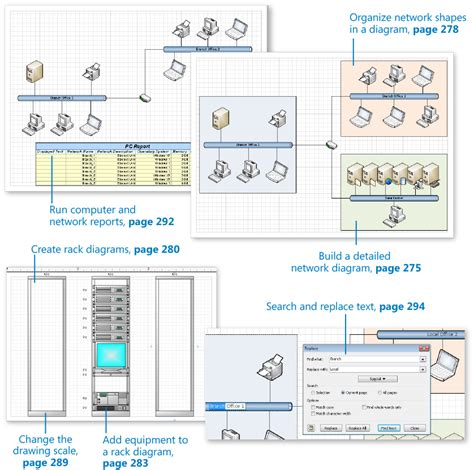 how to learn visio 9 drawing the real world network and data center