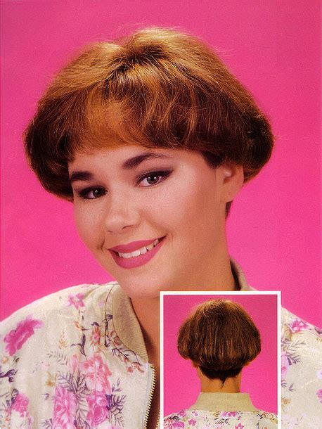 celebrity hairstyle wedges from the 80 s