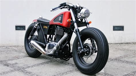 Suzuki Boulevard 250cc Bobber Perfection Suzuki Boulevard S40 From