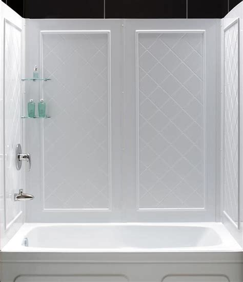 Bathtub Wall Kit by Dreamline Showers Qwall Tub Backwalls Kit