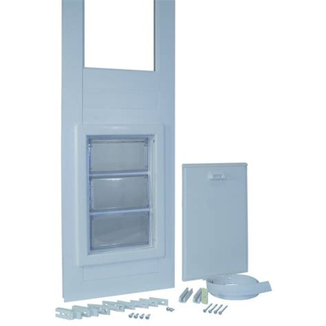 Vinyl Patio Pet Door Ideal Pet Products 78 Inch 150 Series Vinyl Insulated Pet Patio Door Medium Pet Supplies