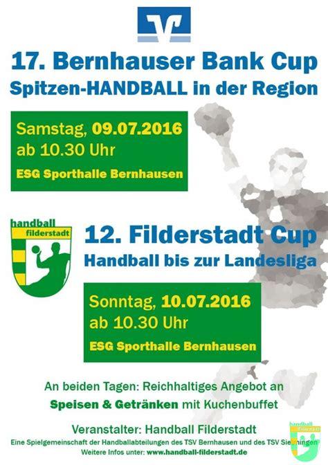 bernhauser bank banking bernhauser bank filderstadt cup 2016