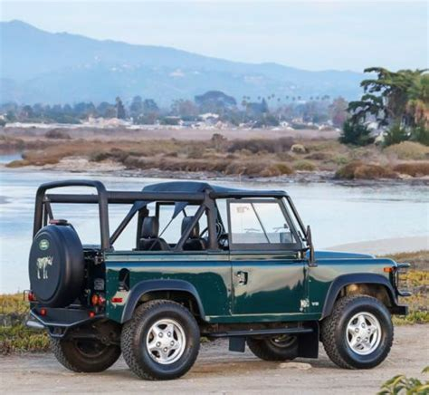 land rover defender convertible for sale buy used 1997 land rover defender 90 nas convertible