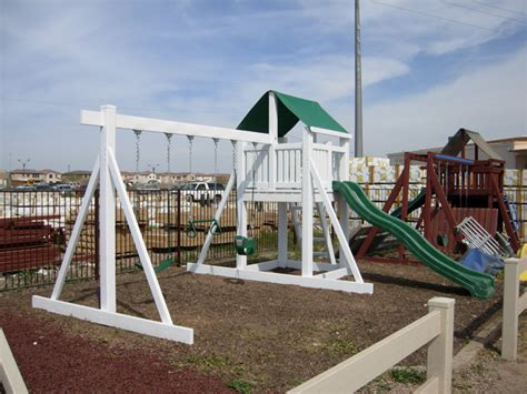 scottsdale swing set custom playsets ruffhouse vinyl play systems