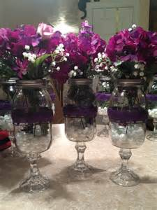 quot wine glass quot flower vases centerpieces for my