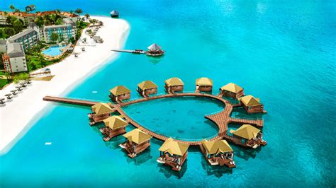 sleep   ocean     water bungalows