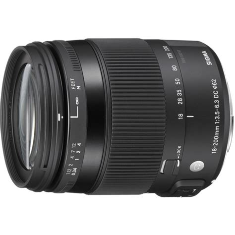 Sigma 18 200 Canon sigma 18 200mm f 3 5 6 3 dc os hsm contemporary lens for canon lenses photopoint