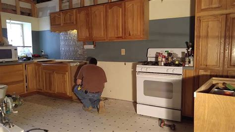 Moving Kitchen Cabinets Farm House Kitchen Cabinet Move For Remodel