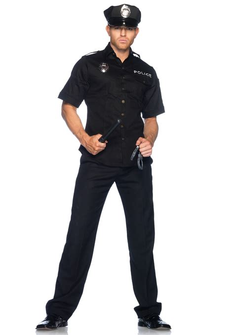 mens officer costume cop costumes