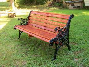 Wood And Wrought Iron Bench Unavailable Listing On Etsy