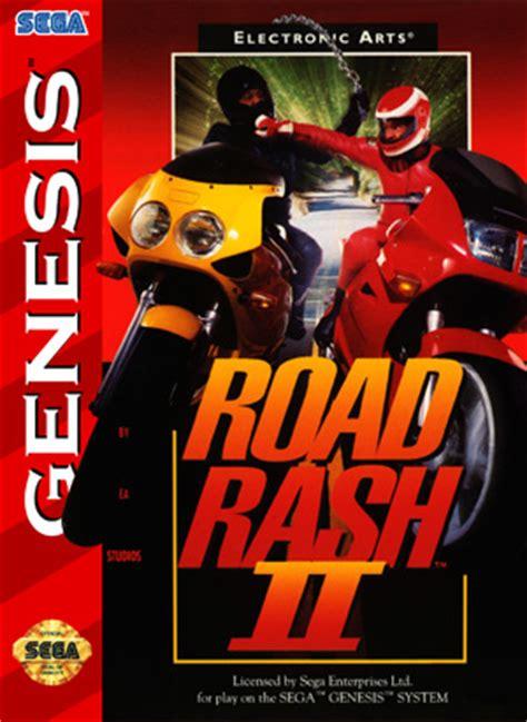 road rash 2 sega genesis road rash ii retro cases