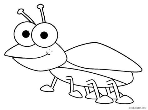 printable bug coloring pages for cool2bkids