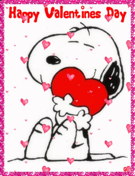 snoopy valentines day snoopy with floating hearts s day