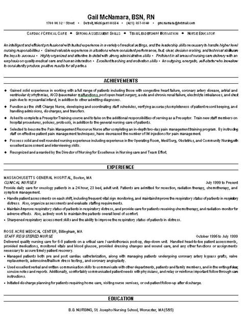 healthcare resume template cover letter exles healthcare